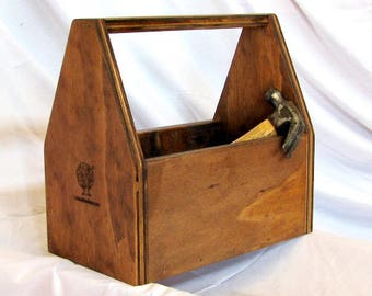 Handy Wooden Tool Box