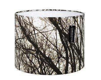 Lamp Shade - Full Branches. Photography lampshade, nature, trees, autumn.