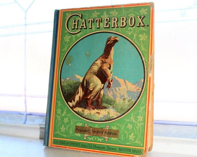 Vintage Children's Book Chatterbox 1927