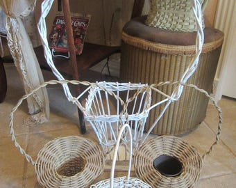 Collection Vintage Baskets Shabby Farmhouse Prairie Cottage