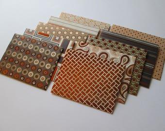 Naturals Foil Envelopes, set of 10