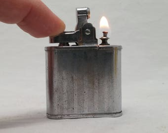1950s Japan ATC Super Deluxe Automatic Lighter - Ronson Whirlwind Clone - Rebuilt, Restored