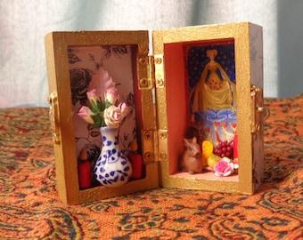 Aphrodite Box Shrine. Miniature Nicho.  Travel Altar.  Mini Shrine. Venus.