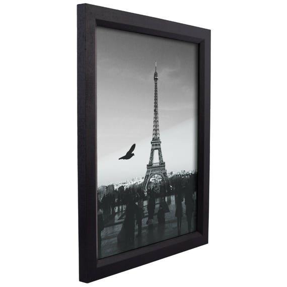 Craig Frames, 12x18 Inch Black Wood Picture Frame, Economy ...