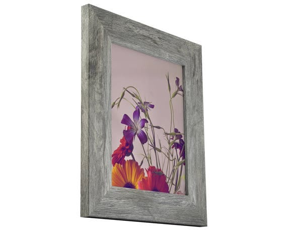 Craig Frames, 24x36 Inch Gray Barnwood Picture Frame