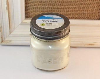 Ocean Mist Soy Candle