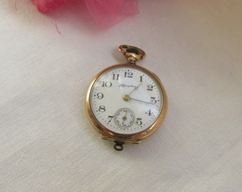 Watch - Pocket Watch - Hampden - Antique