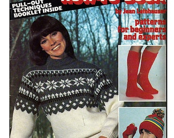 The Knitting How-To Book / Women's Knit  American School of Needlework Knit Pattern Booklet 7