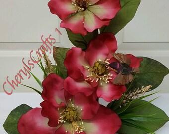 Floral Arrangement,Floral Centerpiece,Floral Tablepiece,Table Decor,Mother's Day Gift,Home Decor