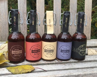 CINCO - FIVE Flavors of Barrel-aged Maple Syrup