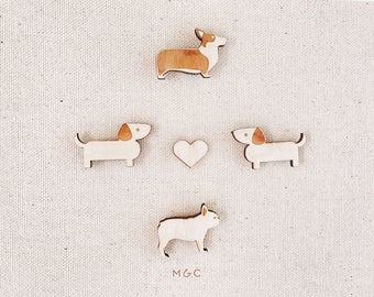 Darby + Dot Friends Magnets - Set of 5
