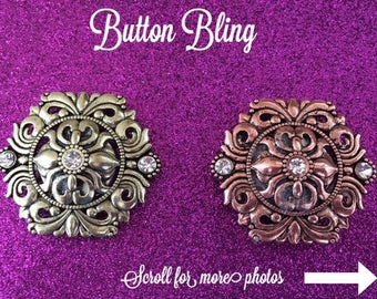 Gold or Bronze Magnetic Brooch Scarf Pin for Scarves, Blouses, Dresses and Shawls, Magnetic button