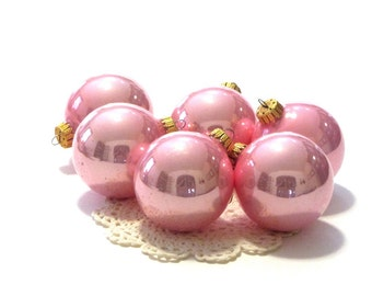 Krebs Rose Pearl Ornaments Christmas by Krebs Round Designer Glass Bulbs With Gold Crowns