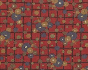 20% Off Sale Modernism Scot Rose by Barbara Brackman for Moda - One Yard - 8272 13