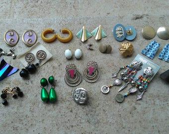 Destash of Vintage Earrings