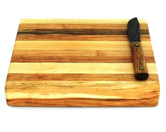 "Butcher Block Cutting Board - Thick Chopping Board - Maple - 12""x10""x2"" - Ready to Ship"