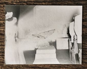 Original Vintage Photograph Married By the Light