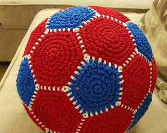 Soft Crochet Soccer Ball