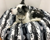 Dog Bed, Pet Bed, Soft Dog Bed, Puppy Bed, Round Dog Bed, Round Kitty Bed