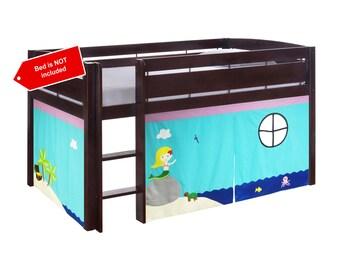 Mermaid theme playhouse