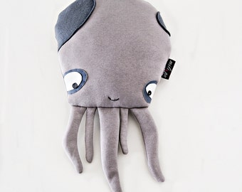 """BABY OCTOPUS, stuffed animal, octopus pillow, plush toys, kids gift, stuffed octopus, plush octopus, stuffed toys, baby gift, 15"""" (38cm)"""