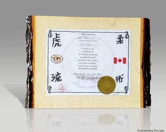 Diploma Frame Etsy