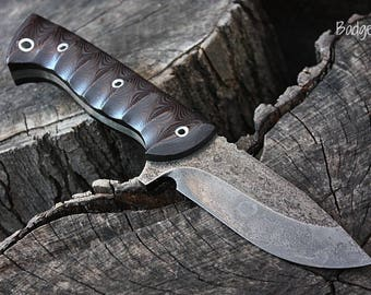 """Handcrafted FOF """"Badger"""", survival, hunting or working blade"""