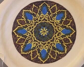 "Mosaic Plate     9.5"""
