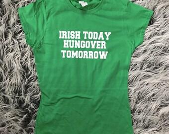 Irish Hangover Womens shirt