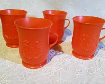 Vintage 80's Kool Aid Cups