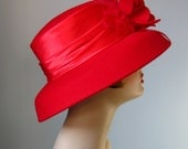 Red Hat / Vtg 90s / Wool ...