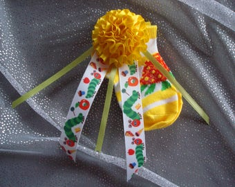 The Very Hungry Caterpillar Baby Shower Corsage; New Mom to Be Gifts; The Very Hungry Caterpillar Baby Socks; The World of Eric Carle gifts