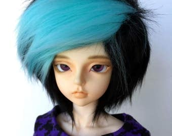 MNF Color Streak Fur Wig [Your Color Choice!]