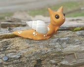 Polymer clay snail