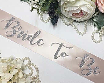 Bride Gift - Bride To Be - Bride To Be Sash - Bachelorette Sash - Bridal Shower Sash - Bachelorette Party - Gift for Bride