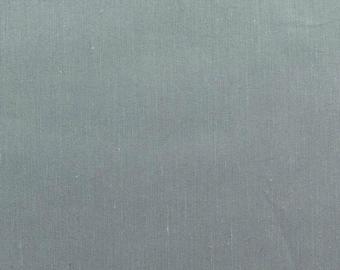 60 Inch Poly Cotton Broadcloth Smoke Grey Fabric by the yard - 1 Yard