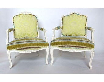 SALE: 19th Century French Bergere Chairs