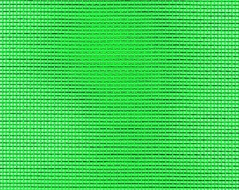 "Vinyl Mesh Fabric, Choose Color - 36"" Wide, Sold by the Half Yard - Available in Green, Red, White, Yellow or Orange"
