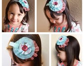 M2M Matilda Jane *Once Upon A Time* Merry Mood Dress Gently Tunic Ruffle Tulle Flower Clip or Headband