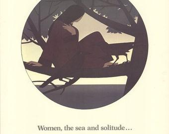 Will Barnet-Women, the Sea and Solitude-1981 Poster