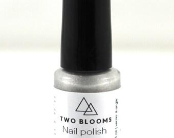 Non Toxic Nail Polish  You Choose, Pink or Silver or Purple Nail Lacquer, Nail Polish Victoria BC, Vancouver Island Canada