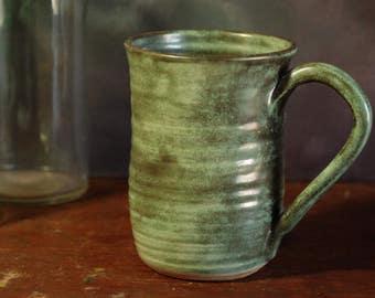 Handmade Stoneware Pottery Coffee Mug