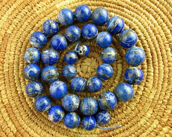 Natural Afghani Lapis Beads