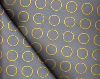 Maharam Upholstery Fabric Repeat Dot Ring Grey 1.125 yds  462150–007  (IF)