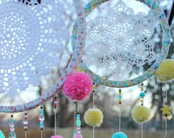 Sweet Dream Catcher (One January Day @ Home Workshop)