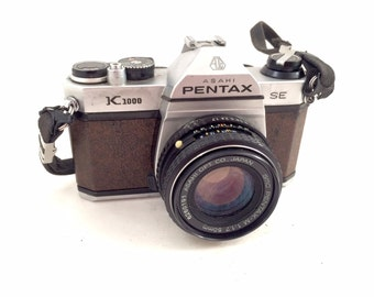 Pentax K1000 SE 35mm Film Camera - With Issues