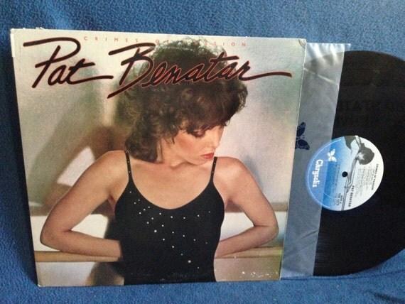 Vintage Pat Benatar Crimes Of Passion Vinyl Lp