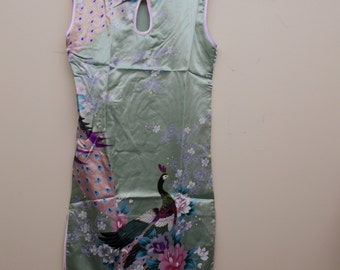 BEAUTIFUL Girls SILK Dress-Size 12