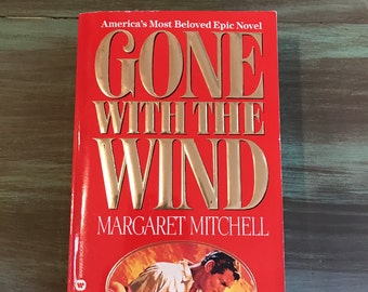 Gone With The Wind by Margaret Mitchell 1964 / Vintage Gone With The Wind Paperback Book Very Good Condition