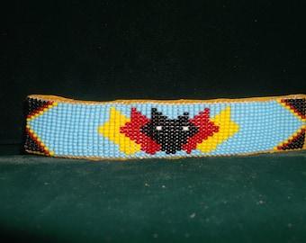wolf bracelet, native american wolf bracelet